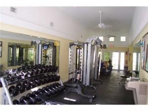 Gym at Pinecrest Village Condos